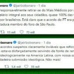 Bolsonaro, não é ideologia, é falta de médico...