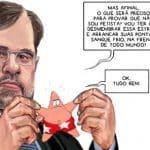"""Toffoli, o dócil, suspende liminar que soltaria """"o perigoso Lula"""""""