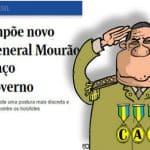 """O Globo: """"Cala boca"""" a Mourão pode ser reação ao filho de Bolsonaro"""
