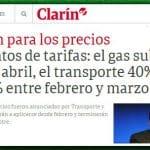 Neoliberais argentinos anunciam 'tarifaço': luz, gás e transportes disparam