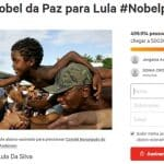 Manifesto por Nobel para Lula chega a meio milhão de assinaturas
