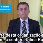 Dilma: Bolsonaro repete mentiras à TV italiana