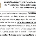 """Promotor abandona caso Fabrício por ter tido encontro com """"Filho 01"""""""