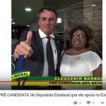 """Bolsonaro apresenta a """"laranja"""" de seu ministro"""