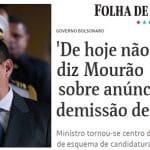 Se Bolsonaro não o faz, Mourão 'demite' Bebianno