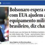 Bolsonaro irritou militares e Araújo piorou o caldo