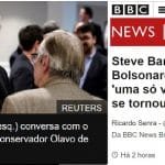 Esculhambação geral: Bannon dá entrevista atacando Mourão