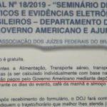 EUA pagam hotel e passagem para juízes brasileiros, mostra Nassif
