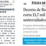 "Chacina funcional na Universidade é ""descoberta"" pela Folha"