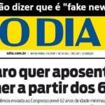 O governo tenta desmentir Bolsonaro, mas é tarde...