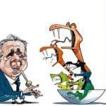 Helena Chagas e o Guedes lançado às feras