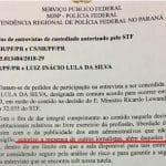 Lewandowski acaba com maracutaia da PF em entrevista a Lula