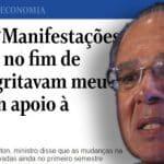 'Otimismo' de Guedes e Moro é sinal de que há problemas