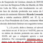 Toffoli libera entrevista de Lula, cinco meses após eleição