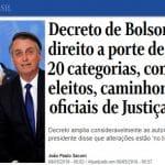Bolsonaro começa a armar suas milícias