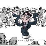Bolsonaro encheu-se do vazio