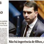 Flávio imita Queiróz e tenta impedir quebra de sigilo