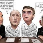 Generais: devolvam seus cargos e salvem o Brasil