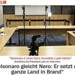 """Bolsonaro só quer destruir"". A íntegra da entrevista à 'Der Spiegel'"