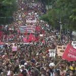 Provocações do governo ajudam a lotar manifestações