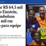 O Globo mostra mais dinheiro viajante de Queiroz: R$ 133 mil