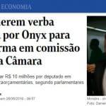 """Previdência: deputados pedem """"botina"""" de R$ 10 milhões antes de votar"""