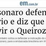 'Juiz' Bolsonaro absolve o filho e chama Queiroz para depor e encerrar o caso