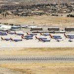 O cemitério de aviões novos é da Boeing, não da Embraer