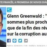 """Greenwald: """"Vaza-Jato está mais perto do início que do fim"""""""