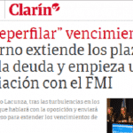 Argentina em 'meia'-moratória. A obra dos neoliberais é o desastre