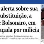 Bolsonaro quis controlar porto das milícias, em Itaguaí
