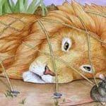 O rato amarra o Leão