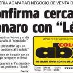 """O """"Caso Paraguai"""" segue ignorado pelos jornais brasileiros"""