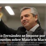 Desastre eleitoral para Macri: 15% de vantagem para Fernández