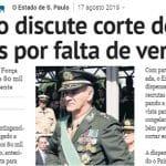 Cortes no Exército vão 'desempregar' 25 mil jovens