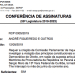 CPI da 'Vaza Jato', mais um 'front' para Sergio Moro