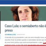 """Miriam Leitão e a """"economia do semiaberto"""" de Lula"""
