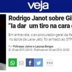 """Aras vai abrir processo contra Janot? Ouça o áudio do """"PGR pistoleiro"""""""