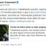Greenwald ironiza Globo: não fizeram jornalismo como o 'Tijolaço'