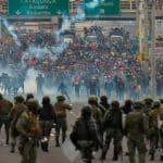 """Marcha indígena faz Equador """"mudar de capital"""""""