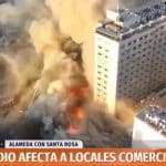 Santiago do Chile tem confrontos e incêndios por todo o Centro