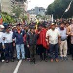No Equador não há conflitos. Mas há muito povo nas ruas. Assista
