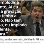 """Machão, Delegado Waldir diz agora que é """"mulher traída que volta ao aconchego"""""""
