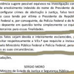 """Moro empurra para Aras a """"missão porteiro"""" de Bolsonaro"""