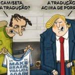 """Trump """"dá o cano"""" no """"Mito. EUA não apoiam Brasil na OCDE"""
