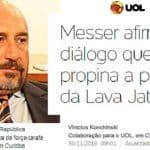 Grampo da Lava Jato revela propina na Lava Jato