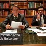 """O uivo dos """"arminhas"""" com a liberdade para matar de Bolsonaro"""