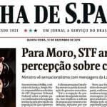 "Moro, como sempre: ""Lula é o culpado"""