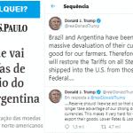 Trump defende os dele; Bolsonaro entrega os seus