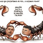 O carinho de Bolsonaro: Moro é um ministro como outro qualquer